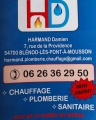 HD CHAUFFAGE PLOMBERIE SANITAIRE